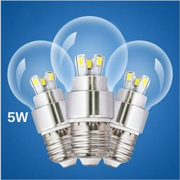 chip warmer globe 2019 - smd led light bulb e27 3W 5W genuine aluminum material led bulbs high quality novelty bulbs AC85-265V SMD 5730 epistar c