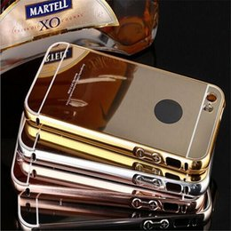 metal aluminum bumper case for iphone 2019 - For iphone 6 6s 6plus 7 7plus s7 Mirror aluminum bumper case For IPHONE,SAMSUNG,LG,HUAWEI,XIAOMI,SONY DHL SCA170 cheap m