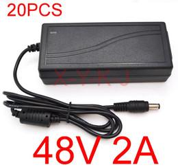 20 stücke Hohe Qualität IC lösungen AC DC 48 V 2A 96 Watt Schaltnetzteil Adapter Desktop Ersatz 48 V POE Ladegerät Express + Kostenloser versand