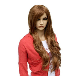 $enCountryForm.capitalKeyWord UK - WoodFestival long curly synthetic wig 70cm loose wave women hair wigs brown oblique bangs natural cheap fiber wig