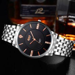 $enCountryForm.capitalKeyWord Canada - Ultra Thin Steel Bunsiness Casual Quartz Gift Watch for Man Waterproof Sport Loves Watch Band Leather Woman Wrist Watch