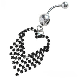 $enCountryForm.capitalKeyWord Australia - D0503-5 ( 5 colors ) mix colors heart style Belly Button ring Navel Rings Body Piercing Jewelry Dangle Accessories Fashion Charm 20PC