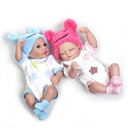 Chinese  Mini Baby Reborn Doll Gentle Touch 11'' 28cm Full Silicone Vinyl Lifelike Realistic Lovely Infant Dolls for Girls Toys Gift manufacturers