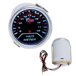 "2"" (52MM) MECHANICAL VOLT GAUGE SMOKE LEN 270 DEGREE SCALE  AUTO GAUGE"