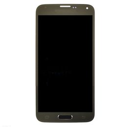 Samsung Galaxy Lcd UK - For Samsung Galaxy S5 Mini SM-G800F G800H LCD Screen+Touch Digitizer Gold
