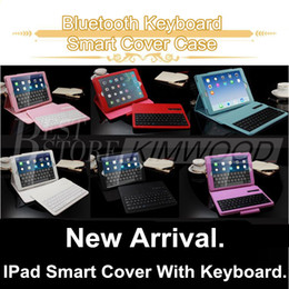 Bluetooth Keyboard Mini Ipad Accessories NZ - Bluetooth Keyboard Case For Ipad 234 Mini 1234 Ipad Air 2 Ipad Pro 12.9'' 9.7