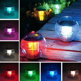 Pond solar lamP online shopping - Solar lights water tank lamp automatic color lamp solar pond lamp
