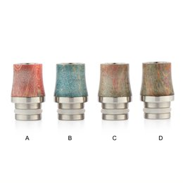 $enCountryForm.capitalKeyWord UK - Stable Wood Drip Tip Colorful 510 Mouthpiece High quality Stable Wood Material for Electronic Cigarette Atomizer