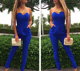 Wholesale backless bodysuit jumpsuit for sale - Group buy Black backless sexy xl jumpsuits rompers white modern_clothes blue bodycon jumpsuits bodysuit for women bra romper womens jumpsuit