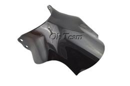 Опт Бесплатная доставка мотоцикл двойной пузырь лобовое стекло лобовое стекло для CB400 супер четыре CB 400 SF черные ветровые стекла