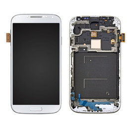 $enCountryForm.capitalKeyWord Canada - LCD Display Touch Screen Digitizer with Frame For Samsung Galaxy S4 i9500 -White