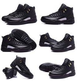 Top ouTleTs facTory online shopping - A12 genuine Leather waterproof sports basketball shoes Hot selling top quality Factory outlet men s Master basketball boot