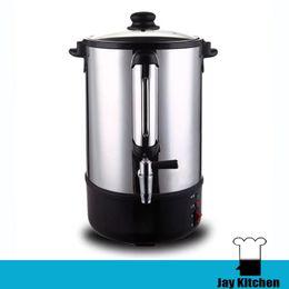 110v 220v electric water heater stainless steel 12l hot water boiler commercial drink tea shop insulation barrels