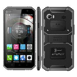 Video Battery Canada - Unlocked 4G LTE IP68 waterproof smartphone Kenxinda PROOFINGS W9 MTK6753 Octa core 6Inch Android 5.1 8MP 4000mAh big battery