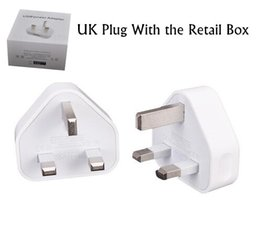 Discount usb charger uk pin - USB 5V 1.2A Wall Charger 3 pin UK Plug AC Power Adapter Home Charger Universal for Smartphone for tablet PC