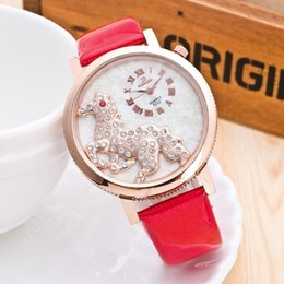 $enCountryForm.capitalKeyWord Canada - New Arrival !Woman Fashion Leather Strap Watches Small Dial Crystal Dial 13 Colors as Christmas Gift