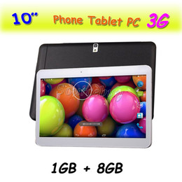 "Unlocked Tablet Pc NZ - New Dual SIM Phablet MTK6572 Dual Core 10"" 3G Unlocked Android4.4 WIFI GPS Bluetooth 1GB RAM 8GB ROM Phone Call Tablet PC"