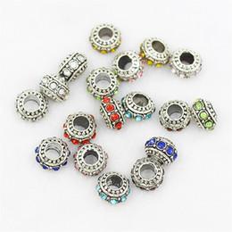 $enCountryForm.capitalKeyWord Canada - Flat Wheel Crystal Charm Bead 925 Silver Plated Fashion Women Jewelry Stunning Design European Style For Pandora Bracelet