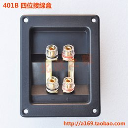 Abs Plastic Speakers Canada - Speaker push terminal,Hot sale speaker terminal box thickening abs plastic junction box transparent plastic parts Free Shipping