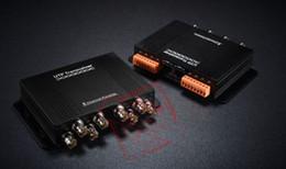 CCtv dvr box online shopping - UTP CH Passive Video Balun Transmitter Cat5 RJ45 For CCTV DVR With Retail Box