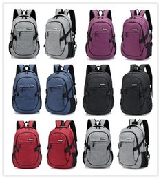 Camera Theft Canada - usb charging design new style backpack anti-theft sports backpack bag multi-function charging contracted students travel camera computer bag
