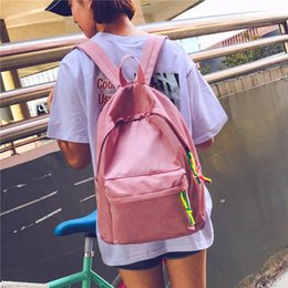 Fashion Bags Women School Backpack College Wind Shoulder Bag Summer New Hit Backpack  Travel Lady Cartoon Style Individuality Backpacks c464d8cff6585