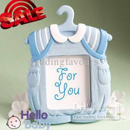 $enCountryForm.capitalKeyWord Canada - Free Shipping 40pcs Cute Baby Themed Blue Photo Frame Favors Baby Shower Boy Baby Birtherday Favors