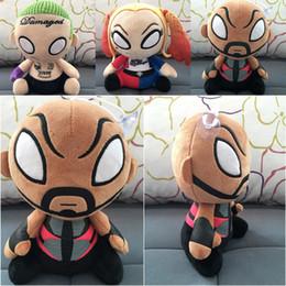$enCountryForm.capitalKeyWord Australia - 20CM New Suicide Squad Plush Toys Harley Quinn Clown Stuff Dolls Halloween Christmas Gift Toy For Children Free Shipping
