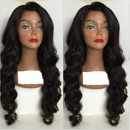 best lace wigs NZ - Human Hair Full Lace Wig 8A Peruvian Loose Wave Lace Front Wigs Glueless Full Lace Human Hair Wig Best Glueless U Part Wigs