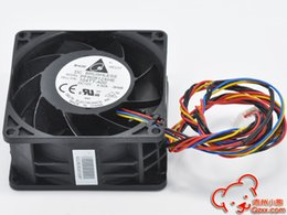 8cm 12v fan UK - New Original PFR0812XHE 12V 4.9A 80*80*38MM 8cm RPM 4 Lines Computer Server Cooling Fan