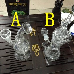 Tire Style Bong NZ - Honeycomb bong Manufacture Hot selliing glass water pipe with tire style and honeycomb glass diffuser percolator 18.8MM glass bongs
