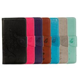 Moto G Gen NZ - Flower Strap Flip Wallet Leather Pouch Case For MOTO G4 Plus G 4 Gen Soft TPU ID Card Money Stand Butterfly Phone Skin Cover Luxury 50pcs