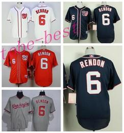 best loved 90a8c b29dc washington nationals 6 anthony rendon red 10th jersey