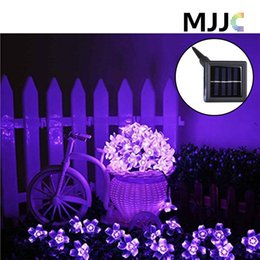 $enCountryForm.capitalKeyWord Canada - Solar Power LED Fairy String Lights 7M 50 LED Blossom Light Decorative Festival Garden Lawn Patio Christmas Tree Weddings Parties Waterproof