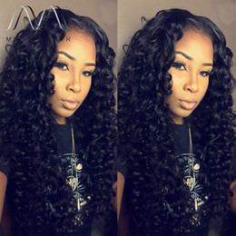 brazilian lace wigs black women Australia - Hot Selling Full Lace Front wig Human Hair Wigs For Black Women Brazilian Curly Full Lace Wig Bleached Knots Cheap Human Hair Wigs