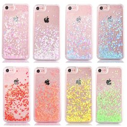 $enCountryForm.capitalKeyWord Canada - Fashion Transparent phone cases Fun Glitter Star Quicksand Liquid Phone Back cover case For Iphone 8X 8 7 6s plus Samsung S8 S7 edge SCA316