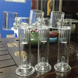 Wholesale Newest level replacement glass bong h e nail glass pipe for Portable E nail H E nail wax vaporizer and electric nail