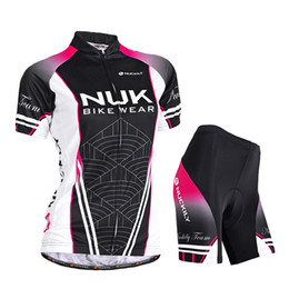 $enCountryForm.capitalKeyWord Australia - Cycling Women NUCKILY Black Comfortable Jersey + shorts Bicycle Outdoor Jersey Set Breathable Size S , M , L , XL , XXL