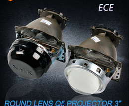 Discount bi xenon projector headlights for cars - 3.0 Inch Q5 Car Bi-Xenon HID Projector Lens Kit For car headlight high low beam European standard Without HID Bulb
