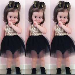 Discount pageant dresses new styles kids - 2017 New Arrival Sequins Newborn Girl Dress Infant Toddler Baby Clothing Strap Tull Pearl Pageant Kids Little Girl Dress
