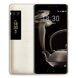 """Venta al por mayor de Teléfono móvil original Meizu Pro 7 Plus 4G LTE 6GB RAM 64GB / 128GB ROM MTK Helio X30 Deca Core Android 5.7 """"16.0MP Identificación de huella digital Teléfono celular"""