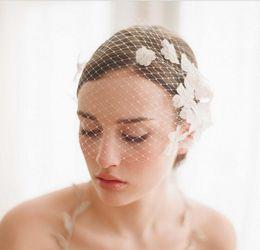 bridal luxury veil 2019 - 2018 Newest Elegant Bridal Tiara luxury veil handmade flowers veil bridal accessories export trade face headpieces disco