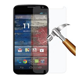 $enCountryForm.capitalKeyWord UK - 2.5d HD For Motorola MOTO XT1032 G2 E X play X2 X XT1056 E2 E-LTE XT907 Tempered Glass Screen Protector Protective Film Front 200pcs Lot