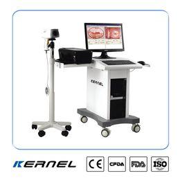 Examen gynécologique par colposcope vidéo pour l'inspection précoce du cancer du col de l'utérus