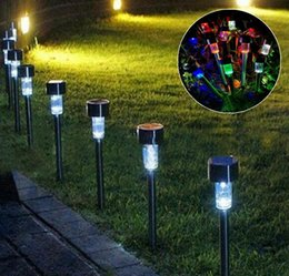 small plug led lights 2020 - Solar lawn lamp, outdoor waterproof courtyard lamp, LED small wireless plug landscape lamp, convenient and practical.