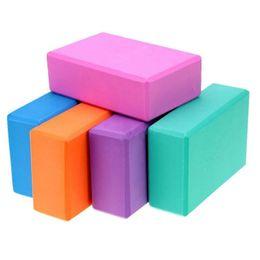 Black Blocks Australia - Yoga Props Foam Brick Stretching Aid Gym Pilates Aolikes Yoga Block Exercise Fitness Sport