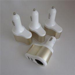 $enCountryForm.capitalKeyWord Canada - Car Charger 2 Port USB Car Cigarette Lighter Socket Splitter Plug Charger Socket Power Adapter For Cellphone etc