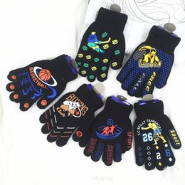 Boys Bikes Canada - wholesale Kids Mittens Boys Soft Knitting winter Warm Gloves bike cycle gloves for 1-5 ages