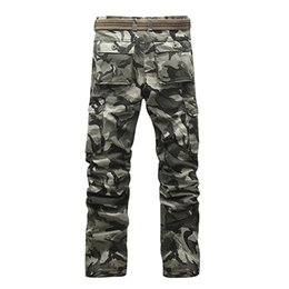 $enCountryForm.capitalKeyWord UK - New Brand Mens Military Cargo Pants for Men More Pockets Zipper Trousers Outdoors Overalls Big Size Camouflage Trousers 28-40