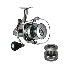 Gear Spin NZ - COONOR TS12-60FR Carp Fishing Spinning Reel 4.3:1 6.3:1Two-Speed Gear Ratio 10+1BB Drag Front and Rear Drag Pesca